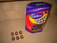 Huge easter eggs half price reduced from £10 to £5 at Tesco!!