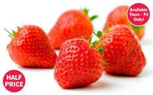 Strawberries 500g 99p - Thurs 28th & Fri 29th only @ Lidl