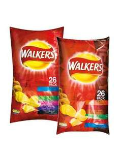 Walkers Classic or Meaty Variety Crisps - 26 Pack £2.49 @ Lidl