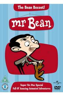 Mr Bean Animated: Volumes 1-6 Box Set (DVD) (6 Disc) - £10.45 Delivered (with code MOREPM15) @ Price Minister Sold by Gzoop