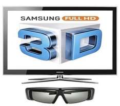 """Samsung LE40C750 - 40"""" Full HD 3D Ready 200Hz LCD TV (includes 1 pair of 3D glasses) - £549.99 (with code) @ Dixons"""