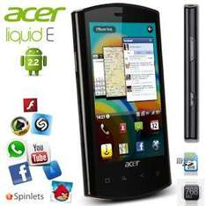 Acer Liquid E (Capacitive, 512MB RAM, 768 MHz Snapdragon CPU, 5MP Camera) - £187.90 @ iBood