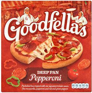 Goodfella's Deep Pan Pizza (pepperoni etc) 437g £1 at Asda
