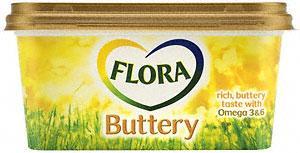 Flora Buttery Taste Spread (500g) £1.95 BOGOF at Tesco