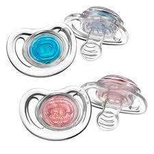 Tommee Tippee Close to Nature 2 Pack Soothers / Dummies & Tommee Tippee Blue or Pink Feeding Bowls - 99p Each @ 99p Stores