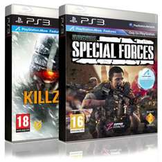 Killzone 3 + Socom 4 Special Forces (PS3) - £49.85 Delivered @ Shopto