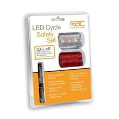 RAC LED Cycle Safety Set - Only £1.99 @ Home Bargains (Instore)
