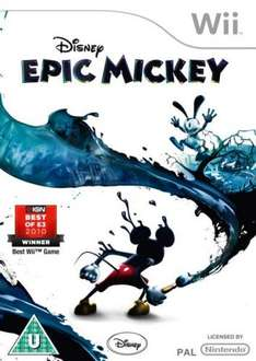 Disney's Epic Mickey (Wii) - 2 for £25 or £17 Each @ Asda (Instore)