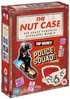 The Nut Case Comedy Box Set: Airplane / Top Secret / Police Squad / The Naked Gun Trilogy (DVD) (6 Disc) - £9.85 (with code) @ The Hut