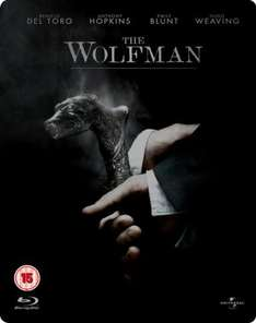 Wolfman Extended Steelbook (Blu-ray) - £8.95 Delivered @ The Hut (+ Possible Quidco)