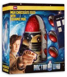 Doctor Who Easter Egg + 3 Small Eggs + Mug Now 75p @ 99p Stores