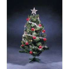 58cm Decorated Christmas Tree with Lights £3 delivered @ Amazon!