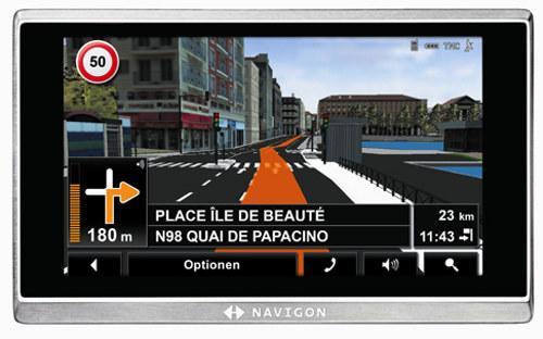 Navigon 8410 Sat Nav - £120 @ Currys Clearance Store (Merry Hill, Midlands)