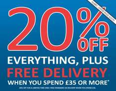 20% off Everything Online and Free Delivery on orders over £35 This Weekend @ Peacocks