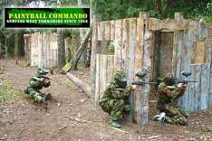 Paintballing for Six People, Including Equipment, 100 Paintballs Each and a Three Course BBQ Lunch for £12 at Paintball Commando (Value £132) - £12 @ Groupon