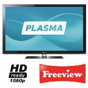 """Samsung PS50C550 - 50"""" Widescreen Full HD 1080p Plasma 600hz TV with Freeview - £499 @ Tesco (Instore)"""