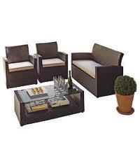Rattan Effect 4 Seat Patio Furniture Sofa Set + £10 voucher£299.99 @ Argos WAS £599.99