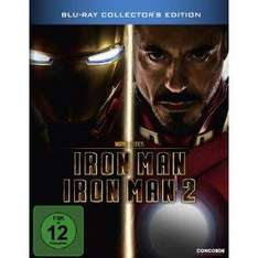 Iron Man 1 & 2 Double Pack (Steelbook) (Blu-ray) - £23.43 Delivered @ Amazon Germany