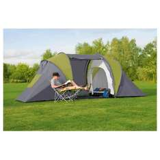 6 Person Vis a Vis Tent - £37.50 with Clubcard Exchange @ Tesco Direct