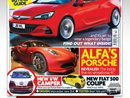 Free issue of Auto Express magazine