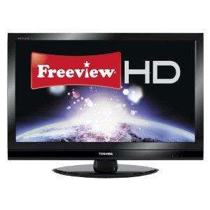 "Toshiba 40RV753B - 40"" Widescreen Full HD 1080p Digital LCD TV with Freeview HD - £349 @ Amazon"
