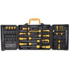 Rolson Tools 36820 60 Piece Screwdriver Set in Blow Moulded Case £9.50 @ Amazon