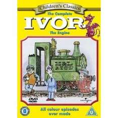 Ivor The Engine: The Complete Ivor The Engine (DVD) - £2.99 @ Amazon & Play