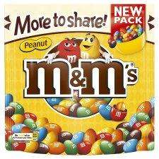 M&Ms Peanut large 315g bag £1.29 @ Tesco