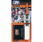 GM Hero Cricket Autograph Set - Includes 32 Page Autograph Book, Miniature Bat and Pen - £3.99 Delivered @ Sport Discount