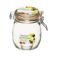 Kitchen Craft Home Made Deluxe Glass Preserving Jar, 750ml (26oz) £2.75 at Amazon