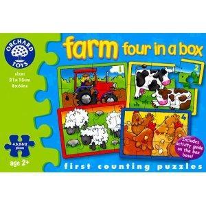 Orchard Toys Farm Four in a Box - £2.49 @ Amazon - Now £2.37 (thanks to Arriaga)