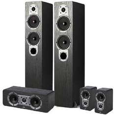Jamo S 426 HCS 3 Speaker System - Free 30m Fisual Covert Speaker Cable - £249.99 @ Amazon Sold by Audio Visual Online
