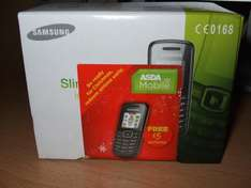 Samsung GT-E1080i Unlocked, £10  (£5 Credit Included) @ Asda Mobile INSTORE