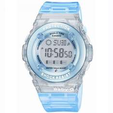 Casio BG-1302-2ER BABY-G Ladies Digital Resin Strap Watch - £26.96 @ Amazon