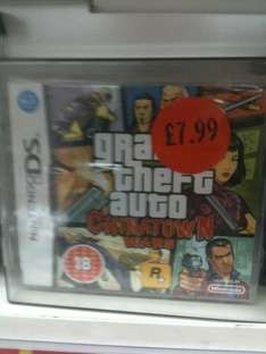 Grand Theft Auto Chinatown Wars (DS) - £7.99 @ Sainsburys (Instore)