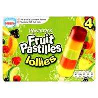 Rowntrees Fruit Pastilles lollies £1.00 box of 4 @ Asda