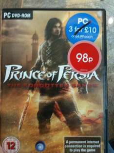 Prince of Persia: The Forgotten Sands (PC) - 98p @ Game (Instore)