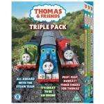 Thomas And Friends: All Aboard With The Steam Team / It's Great To Be An Engine / Peep! Peep! Hurray! (DVD) - £3.97 Delivered @ Tesco Entertainment