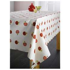 Wipe Clean Tablecloth Apple Design 180cm X 130cm £4.99 delivered First Class @ Tesco Outlet
