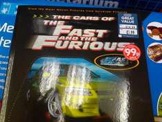 The Cars of The Fast and The Furious - 99p @ The Works