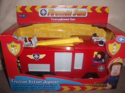 Large Fireman Sam Friction Jupiter Fire Engine - £8.99 @ B&M