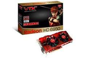 AMD Radeon HD 6950 2GB VTX3D Graphics Card VX6950 2GBD5-2DH - £187.78 Delivered @ Ballicom