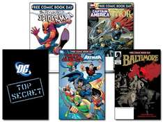 Free Comic Book Day May 7th (Various comic book stores throughout the UK)
