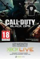 12 Months Xbox Live Gold Subscription + Black Ops T-Shirt - £31.99 @ Bee