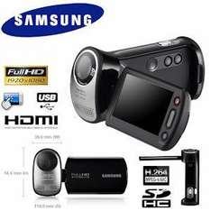 Samsung HMX-T10 Camcorder Full HD 1080p - £122.90 Delivered @ iBood