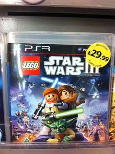 Lego Star Wars 3: The Clone Wars (PS3) - £29.99 @ Morrisons (Instore)