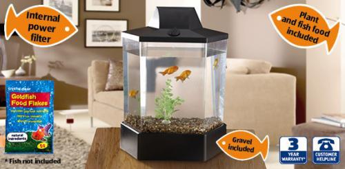 Aquarium - 15L Fish tank - no fish £19.99 @ ALDI