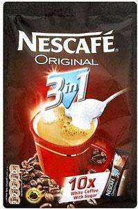 Nescafe Original 3 in 1 - 10 x 18g sachets £1 in Tesco