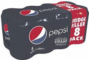 Pepsi, Diet Pepsi & Pepsi Max (8 x 330ml pack £2 at Tesco
