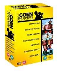 Coen Brothers Collection (DVD) - £9.95 @ Zavvi
